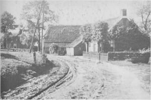 Figuur 1. Huisje van Leysen (nu Kerkbrink 14).