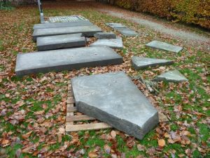 Begraafplaats steendelen