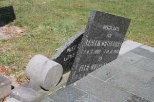 Begraafplaats verwering foto 5